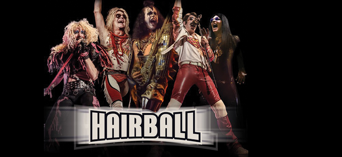Photo of Hairball dressed for show